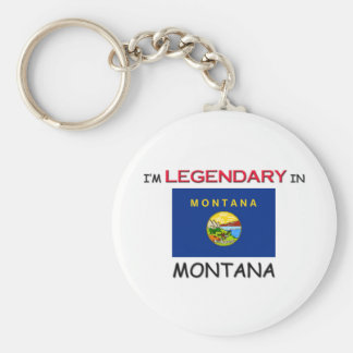 I'd Rather Be In MONTANA Keychain