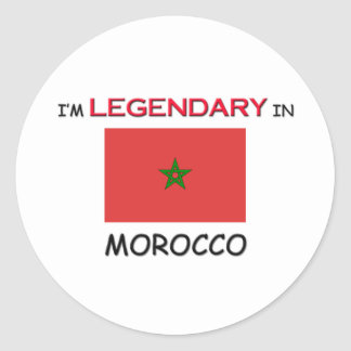 I'd Rather Be In MOROCCO Classic Round Sticker