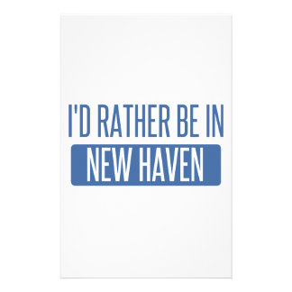 I'd rather be in New Haven Stationery