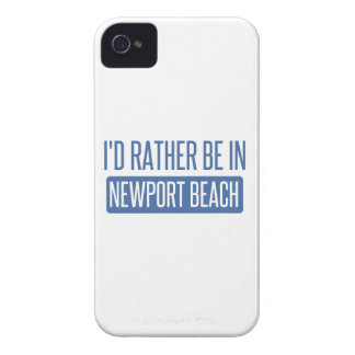 I'd rather be in Newport Beach iPhone 4 Cover