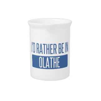 I'd rather be in Olathe Beverage Pitcher