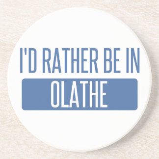 I'd rather be in Olathe Sandstone Coaster