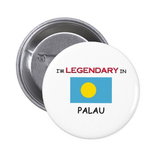 I'd Rather Be In PALAU Pinback Buttons