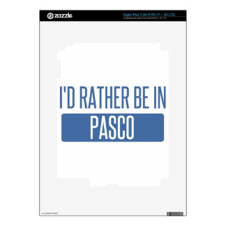 I'd rather be in Pasco iPad 3 Skins