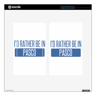 I'd rather be in Pasco Kindle Fire Decals