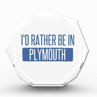I'd rather be in Plymouth Acrylic Award