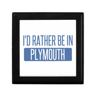 I'd rather be in Plymouth Jewelry Box