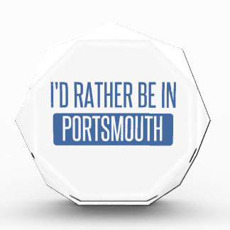 I'd rather be in Portsmouth Acrylic Award