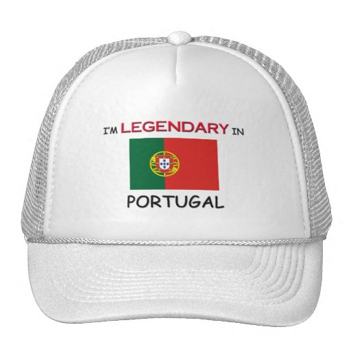 I'd Rather Be In PORTUGAL Trucker Hat