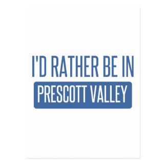 I'd rather be in Prescott Postcard