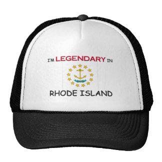I'd Rather Be In RHODE ISLAND Trucker Hat