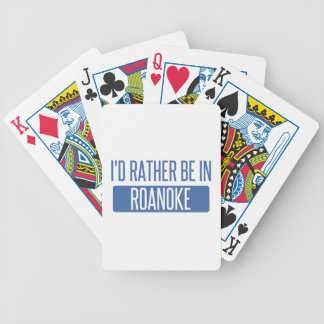 I'd rather be in Rochester Hills Bicycle Playing Cards