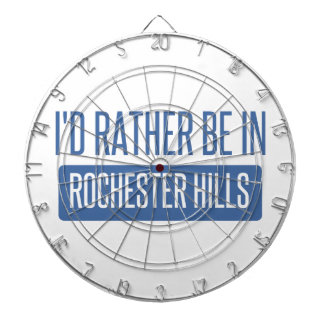 I'd rather be in Rochester MN Dartboard With Darts