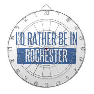I'd rather be in Rochester NY Dartboards
