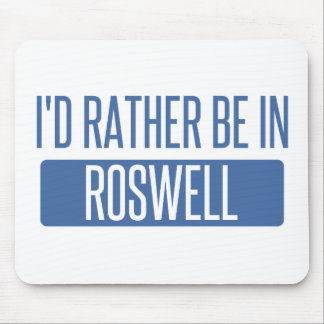 I'd rather be in Roswell GA Mouse Pad