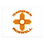 I'd Rather Be In Roswell Postcards