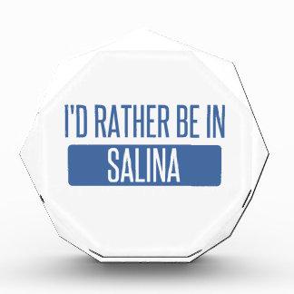I'd rather be in Salina Award