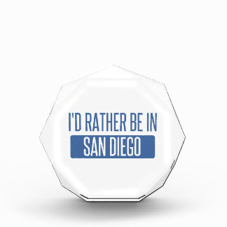 I'd rather be in San Diego Award