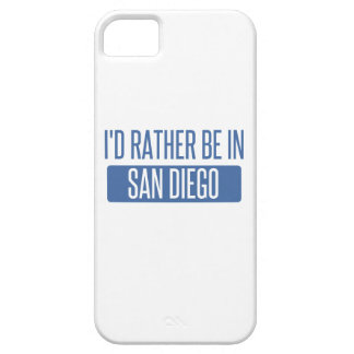 I'd rather be in San Diego iPhone SE/5/5s Case