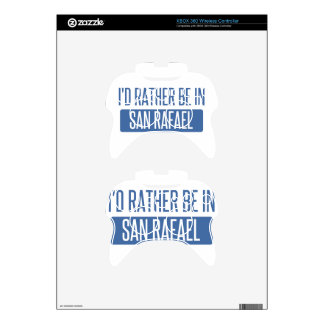I'd rather be in San Rafael Xbox 360 Controller Decal