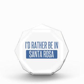 I'd rather be in Santa Rosa Award