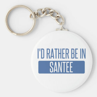 I'd rather be in Santee Keychain