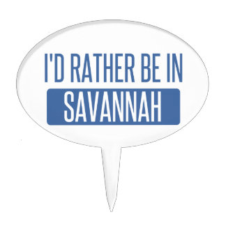 I'd rather be in Savannah Cake Topper