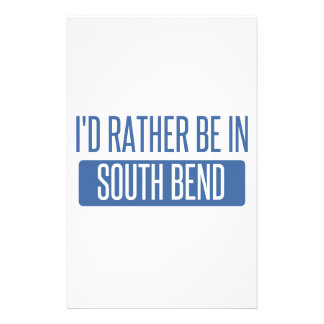 I'd rather be in South Bend Stationery