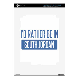 I'd rather be in South Jordan Skin For iPad 3