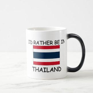 I'd rather be in Thailand Magic Mug