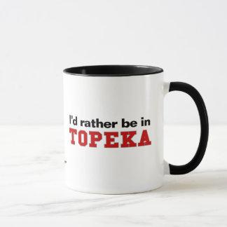 I'd Rather Be In Topeka Mug