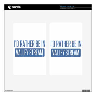 I'd rather be in Valley Stream Decals For Kindle Fire