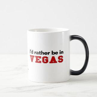 I'd Rather Be In Vegas Magic Mug