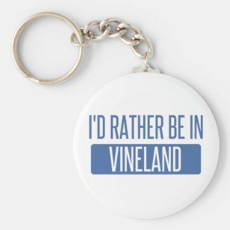 I'd rather be in Vineland Keychain