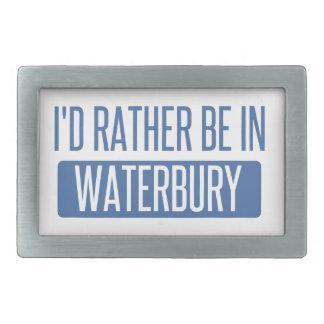 I'd rather be in Waterbury Belt Buckle