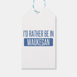 I'd rather be in Waukegan Gift Tags