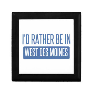 I'd rather be in West Des Moines Jewelry Box