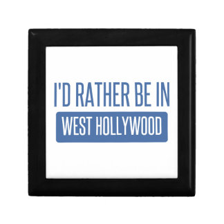 I'd rather be in West Hollywood Jewelry Box