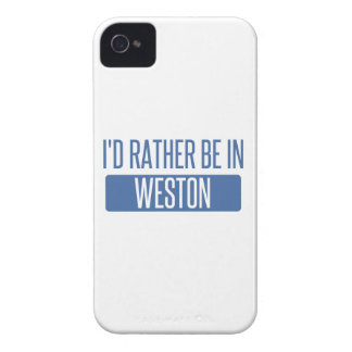 I'd rather be in Weston iPhone 4 Case-Mate Case