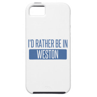 I'd rather be in Weston iPhone SE/5/5s Case