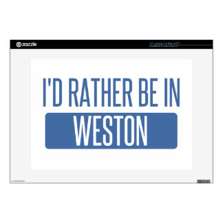 I'd rather be in Weston Laptop Decals