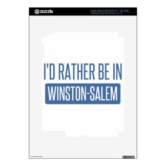 I'd rather be in Winston-Salem iPad 3 Skin