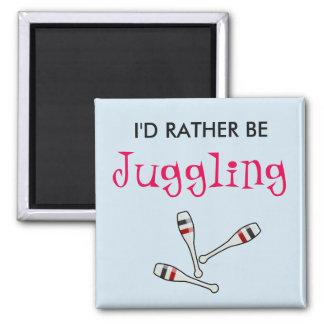 I'd Rather Be Juggling Magnet