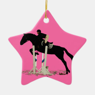 I'd Rather Be Jumping! Horse Ceramic Ornament