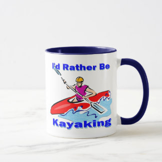 I'd Rather Be Kayaking 1 Mug