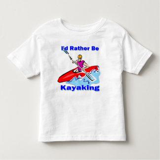 I'd Rather Be Kayaking 1 T Shirt