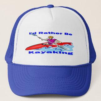 I'd Rather Be Kayaking 1 Trucker Hat