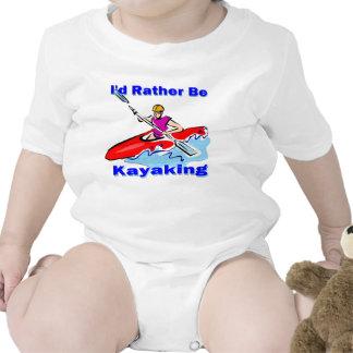I'd Rather Be Kayaking 1 Baby Bodysuit