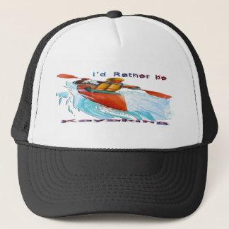I'd Rather be Kayaking 2 Trucker Hat