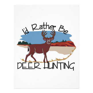 Id Rather be… Letterhead